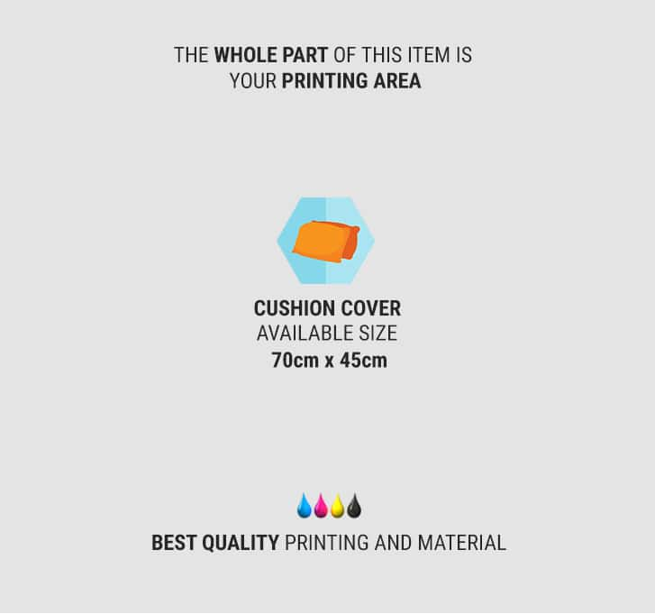 specification print pillow case