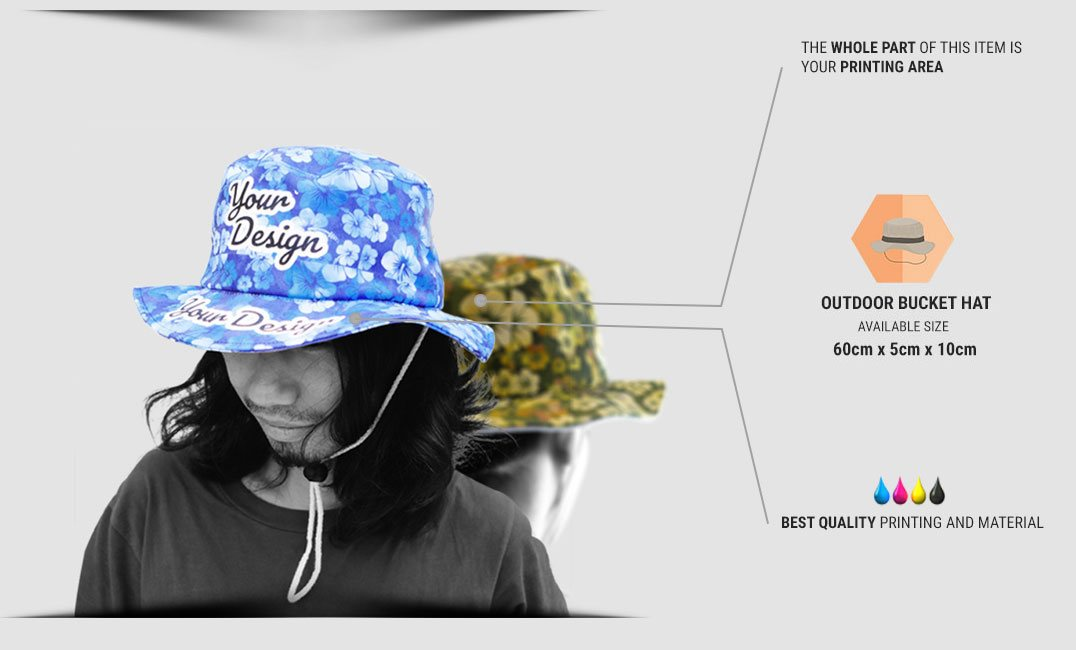 specification outdoor bucket hat