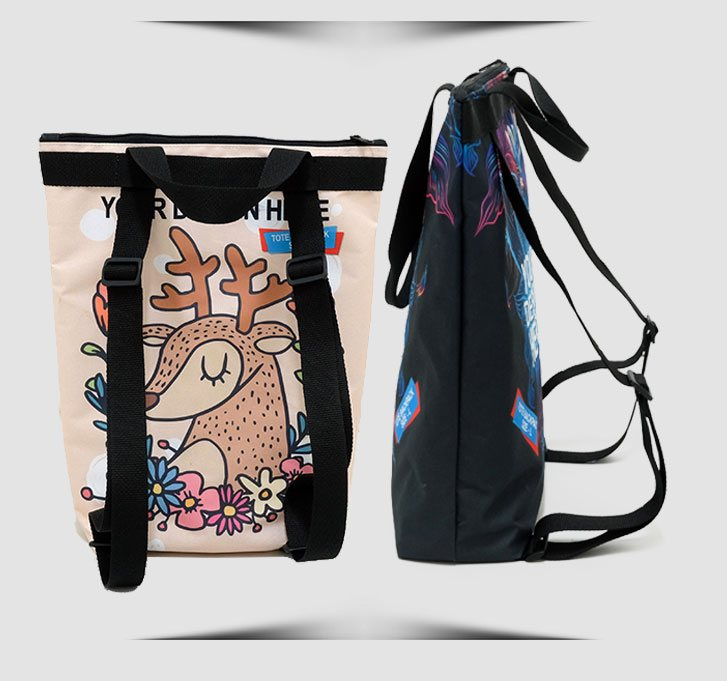 fullprint  tote backpack 2